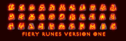 Fiery Runes Version One