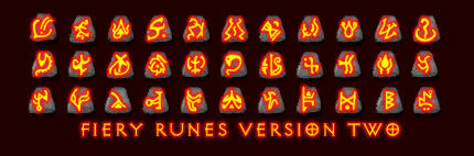 Fiery Runes Version Two