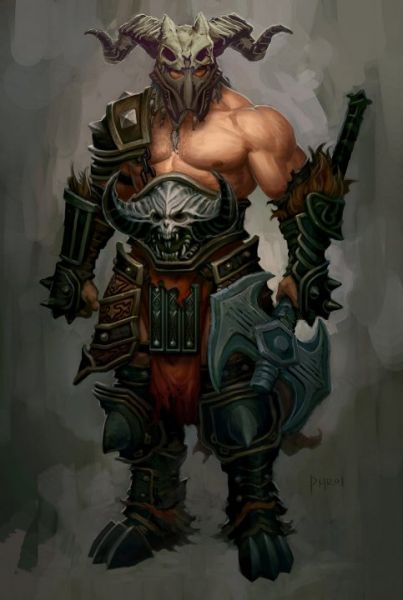 barbarian diablo 3 armor - photo #1