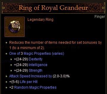 Royal Ring Of Grandure