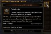 d3 infernal machine of regret