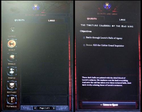 Lore window - Diablo Wiki