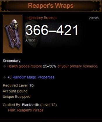 Reaper's Wraps - Diablo Wiki