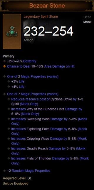 Bezoar Stone - Diablo Wiki