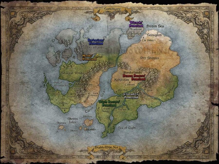 Undead Settlement Map
