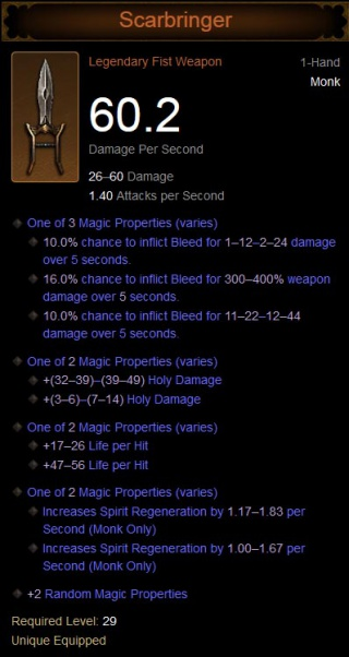 Scarbringer - Diablo Wiki