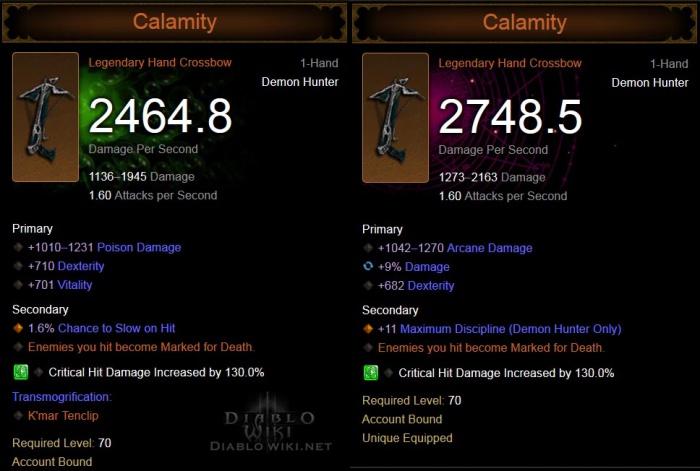 Calamity (Item) - Diablo Wiki