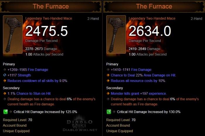 The Furnace Diablo Wiki