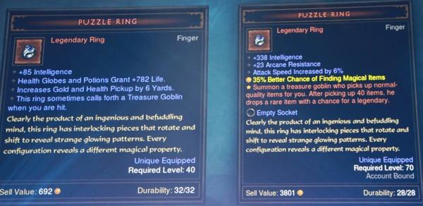 Diablo 3 The Vault Puzzle Ring