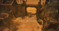 Road to alcarnus entrance.jpg