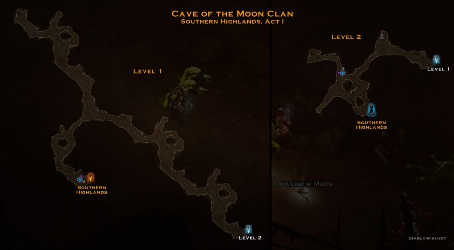 Px Cave Of The Moon Clan Map on px portal